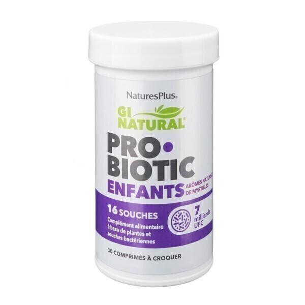 Nature's Plus - Probiotic enfant 30 comprimés