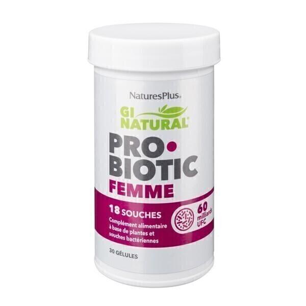Nature's Plus - Probiotic femme 30 gélules