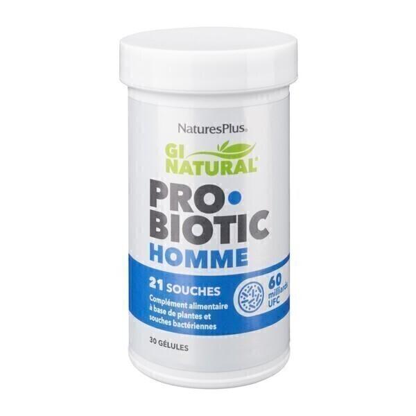 Nature's Plus - Probiotic homme 30 gélules