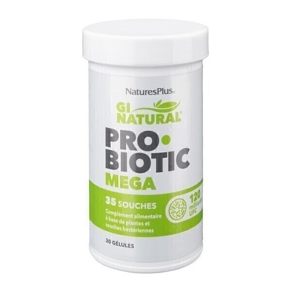 Nature's Plus - Probiotic mega 30 gélules