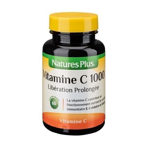 Nature's Plus - Vitamine C 1000mg 60 comprimés LP