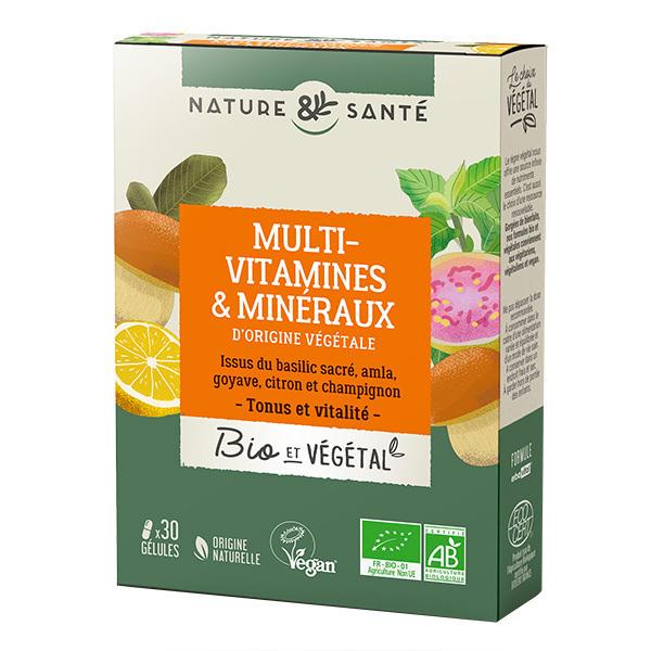 Nature & Santé - Multivitamines & minéraux 13g