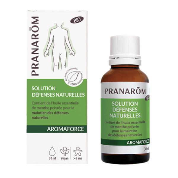 Pranarôm - Solution Défenses Naturelles Aromaforce - Flacon de 30mL