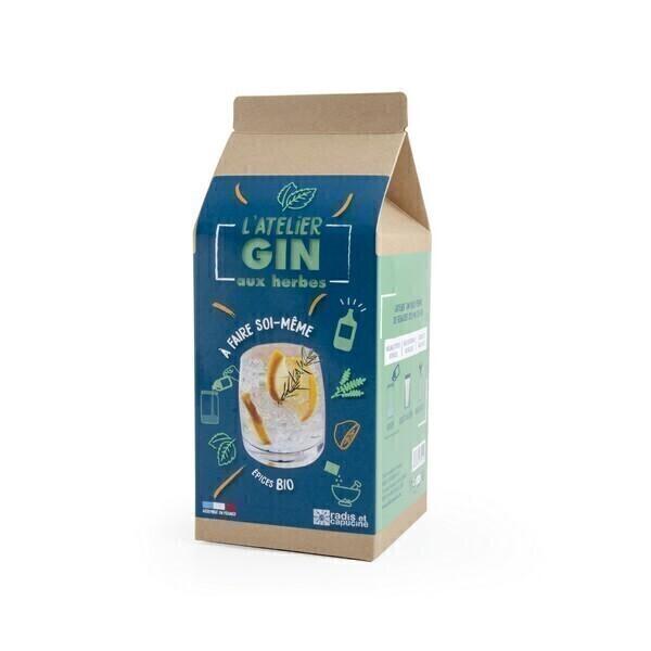 Radis et Capucine - Coffret DIY Gin aux épices à faire soi-même