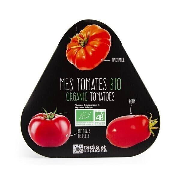 Radis et Capucine - Trio de tomates bio 3 pots
