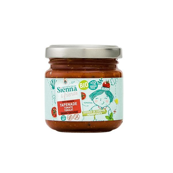 Sienna & Friends - Tapenade tomate et origan 90g - Dès 12 mois
