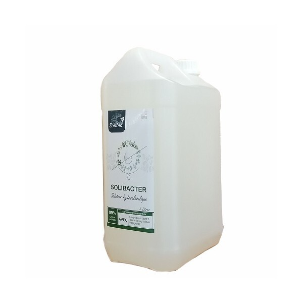Solibio - Solibacter solution hydroalcoolique sans rinçage 5L