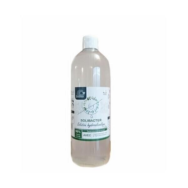Solibio - Solibacter solution hydroalcoolique sans rinçage 1L