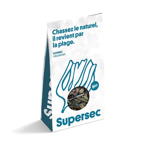 Supersec - Kombu breton, algues séchées 30g
