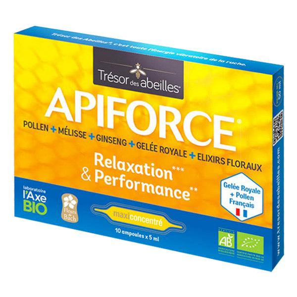 Trésor des Abeilles - Apiforce Bio 10 ampoules de 5ml