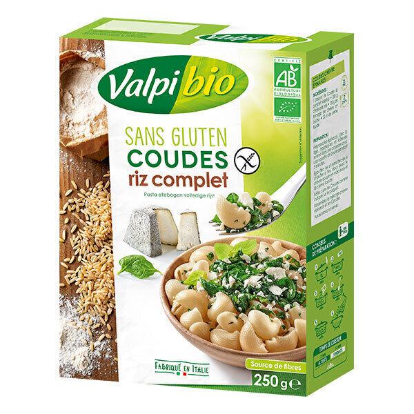 Valpibio - Coudes riz complet 250g