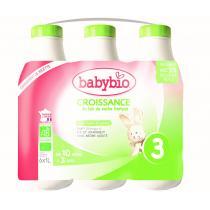 Babybio - Lait de croissance a partir de 10 mois 6x1L