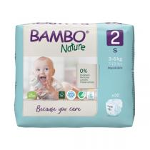 Bambo Nature - 30 couches écologiques T2 S 3-6kg
