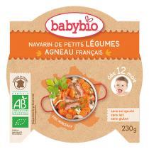 Babybio - Agneau et légumes 230g - Dès 12 mois
