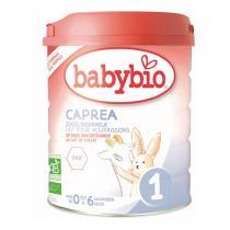 Babybio - Capréa 1 lait de chèvre nourrissons 900g - De 0 à 6 mois