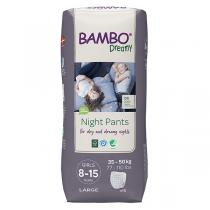 Bambo Nature - 10 culottes d'apprentissage Nuit Fille TL 8-15 ans 35-50kg