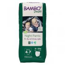 Bambo Nature - 10 culottes d'apprentissage Nuit Garçon 4-7 ans TM 15-35kg