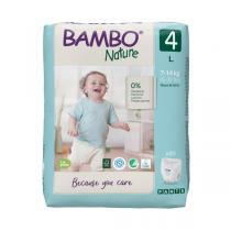 Bambo Nature - Pack 4x20 Culottes d'apprentissage T4 L 7-14 kg