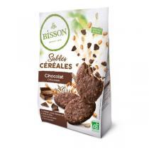 Bisson - Sablés céréales au chocolat 200g