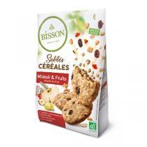 Bisson - Sablés céréales muesli & fruits 200g