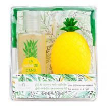 Cellu-cup - Trousse Cup ananas & Huile de douche 75ml