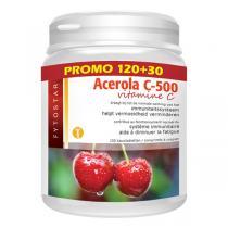 Fytostar - Acerola C-500 Vitamine C Maxi 150 comprimés