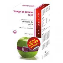Fytostar - Vinaigre de Pommes 1200 Maxi 120 comprimés