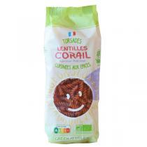 Green Attitude - Torsades blé dur et lentilles corail 250g