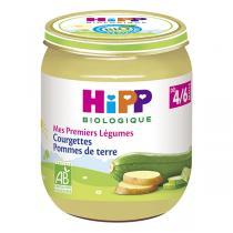 HiPP - Courgettes Pommes de terre pot 4-6 mois 125g