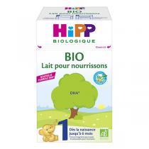 HiPP - Lait 1 BIO pour nourrissons de 0 à 6 mois 600g