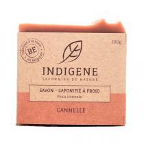 Indigène - Savon saponifié à froid cannelle 100g