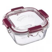 Kilner - Boîte carrée en verre Fresh Storage 75cl