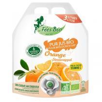 Les Fées bio - Pur Jus d'Orange Bio 3L