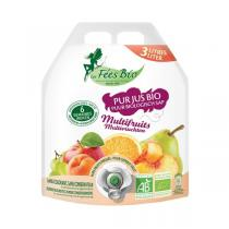 Les Fées bio - Pur Jus Multifruits Bio 3L