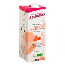 Perlamande - Amandina avoine amande noisette 1L