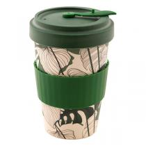 Point Virgule - Mug de voyage fibre de bambou Jungle 50cl