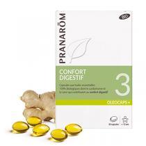 Pranarôm - Confort digestif 30 capsules