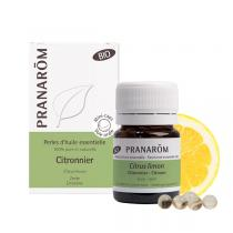 Pranarôm - Huile essentielle de Citronnier Zeste 60 perles