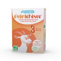 Prémibio® - Prémichèvre 3ème âge 600g - Dès 12 mois