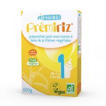 Prémibio® - Prémiriz 1er âge protéines végétales 600g - De 0 à 6 mois