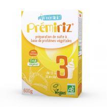 Prémibio® - Prémiriz 3ème âge bio - protéines végétales 600g