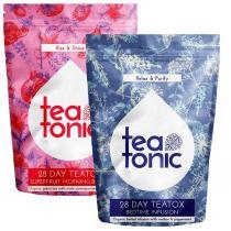TeaTonic - Superfruit Skinny Teatox - Cure de thé minceur de 28 jrs