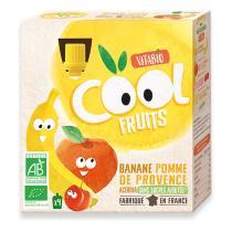Vitabio - Cool Fruits Pomme-Banane 4x90g