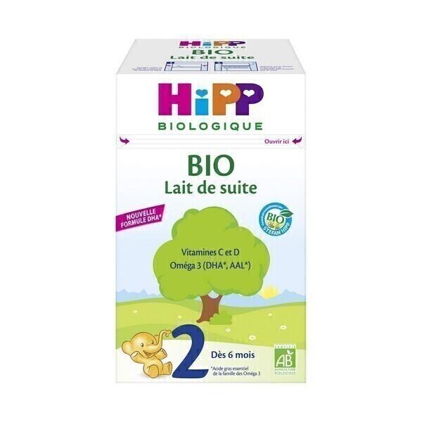Hipp - Lait de suite 2ème âge Bio dès 6 mois 700g