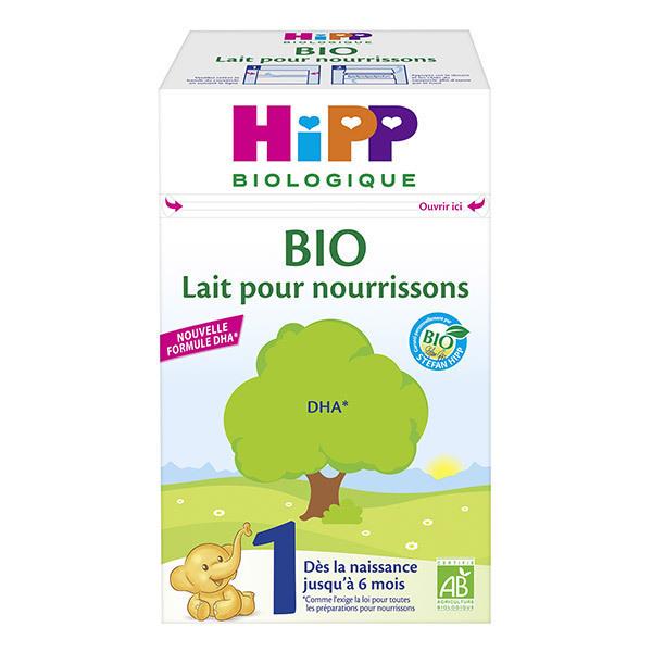 HiPP - Lait 1 BIO pour nourrissons de 0 a 6 mois 600g