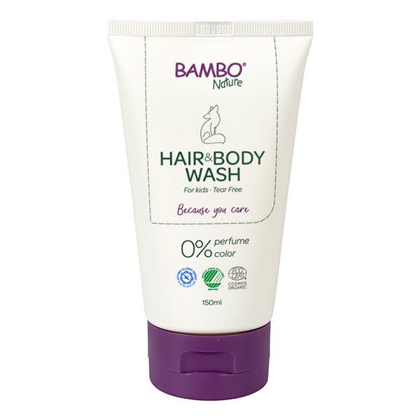 Bambo Nature - Gel lavant corps et cheveux 150ml