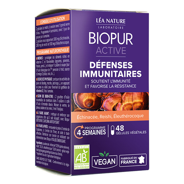 Biopur - Active Défenses immunitaires 48 gél.