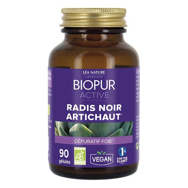 Biopur - Active Radis noir Artichaut - 90 gel.