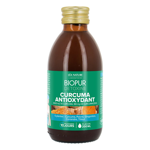 Biopur - Détoxine Antioxydant Curcuma 200ml