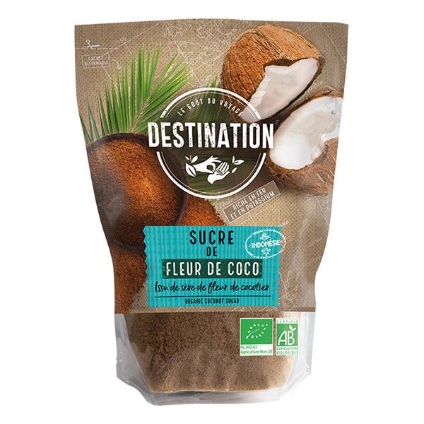 Destination - Sucre Fleur de Coco Bio 500g